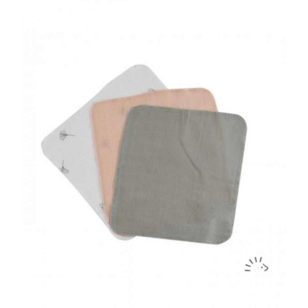 Popolini 3 små vaskeklude jordfarver-31