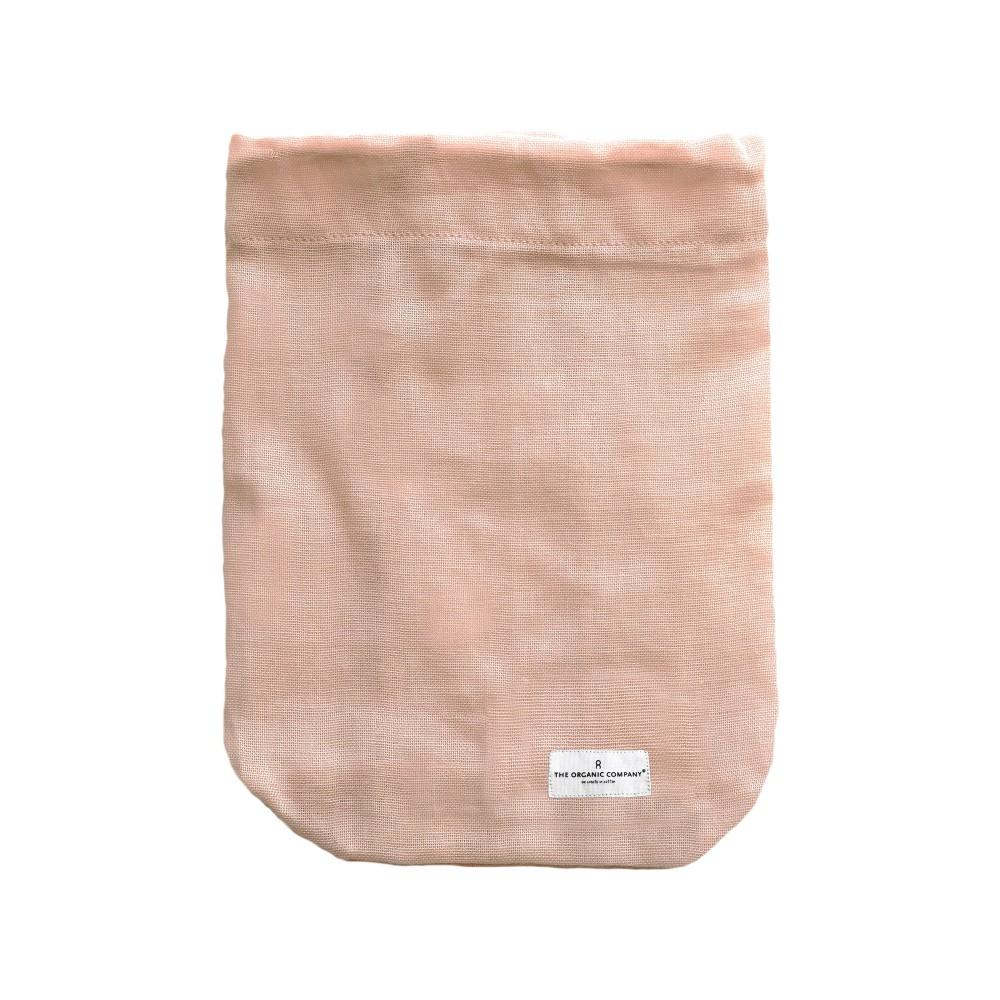 The Organic Company brødpose flere størrelser pale rose-31
