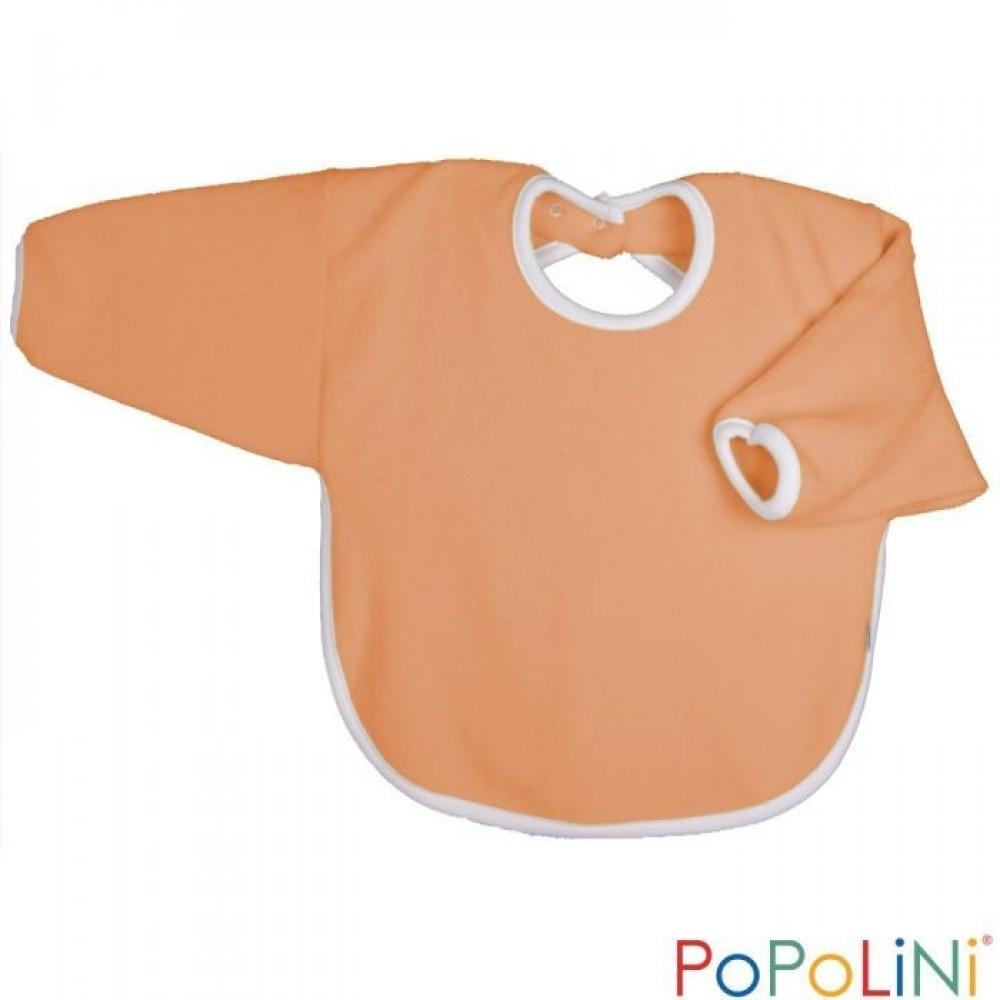 Popolini hagesmæk forklæde med ærmer orange-31