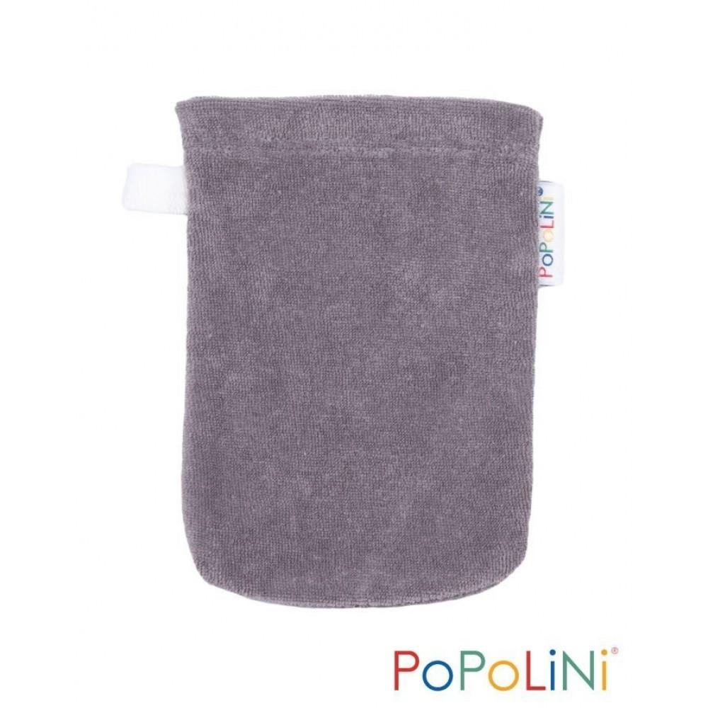 Popolini vaskehandske 2 størrelser grå-31