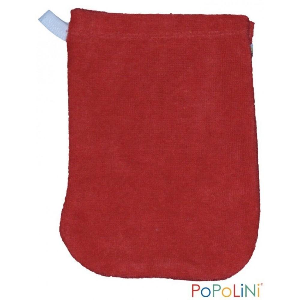 Popolini vaskehandske 2 størrelser rød-31