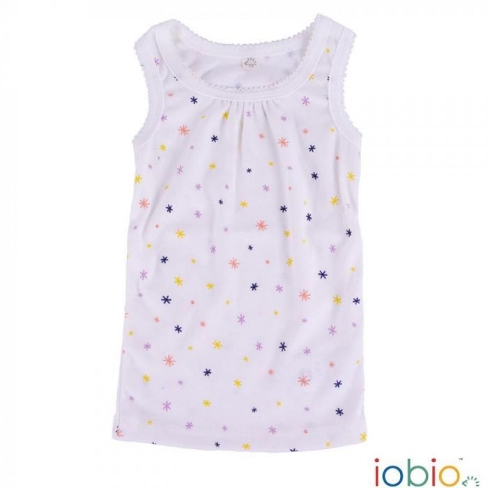 Iobio undertrøje til piger gots bomuld natur med stjerner-31