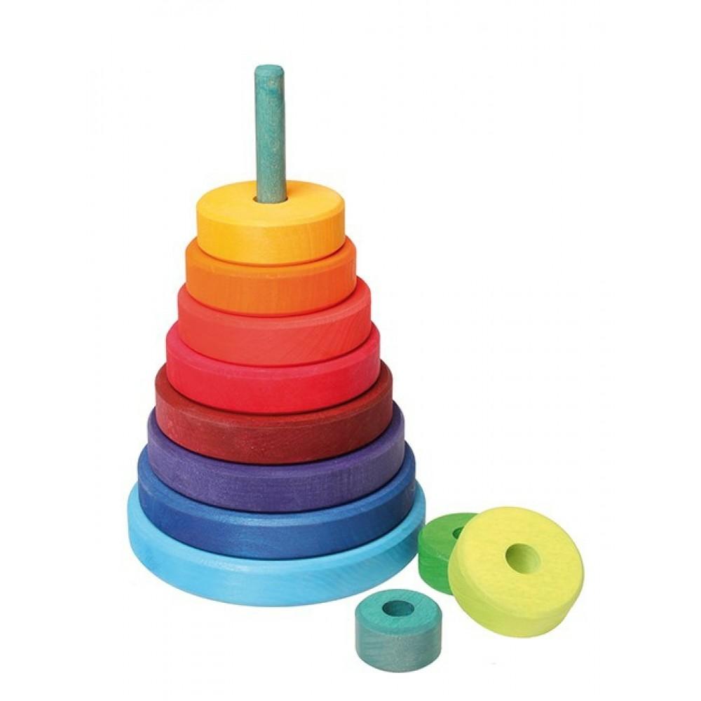 Grimms stort stabeltårn klassiske farver-31
