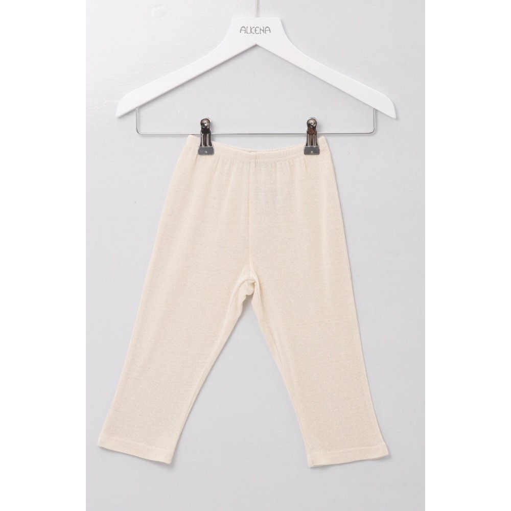Alkena bukser bourette silke natur-31