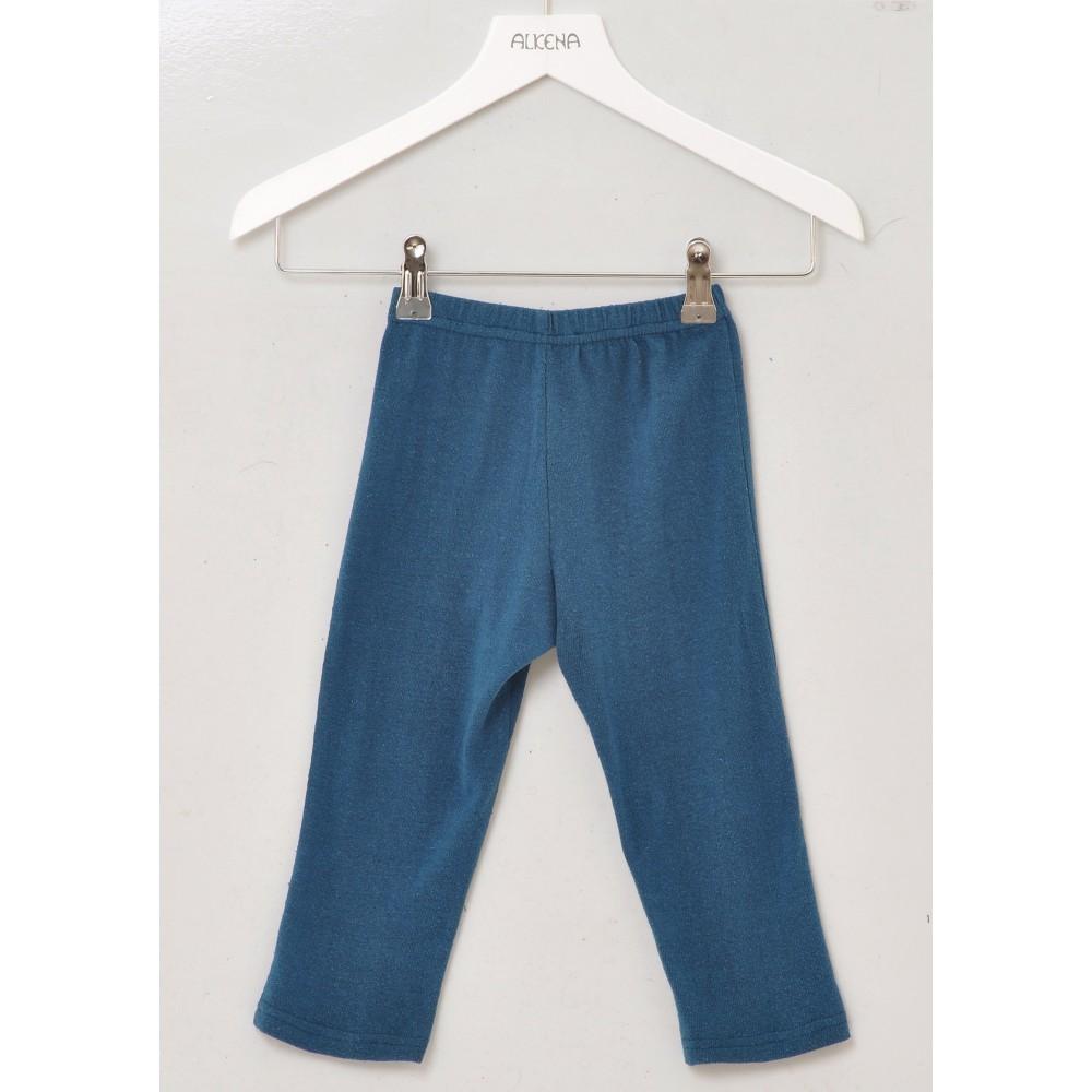Alkena bukser bourette silke petroleum-31