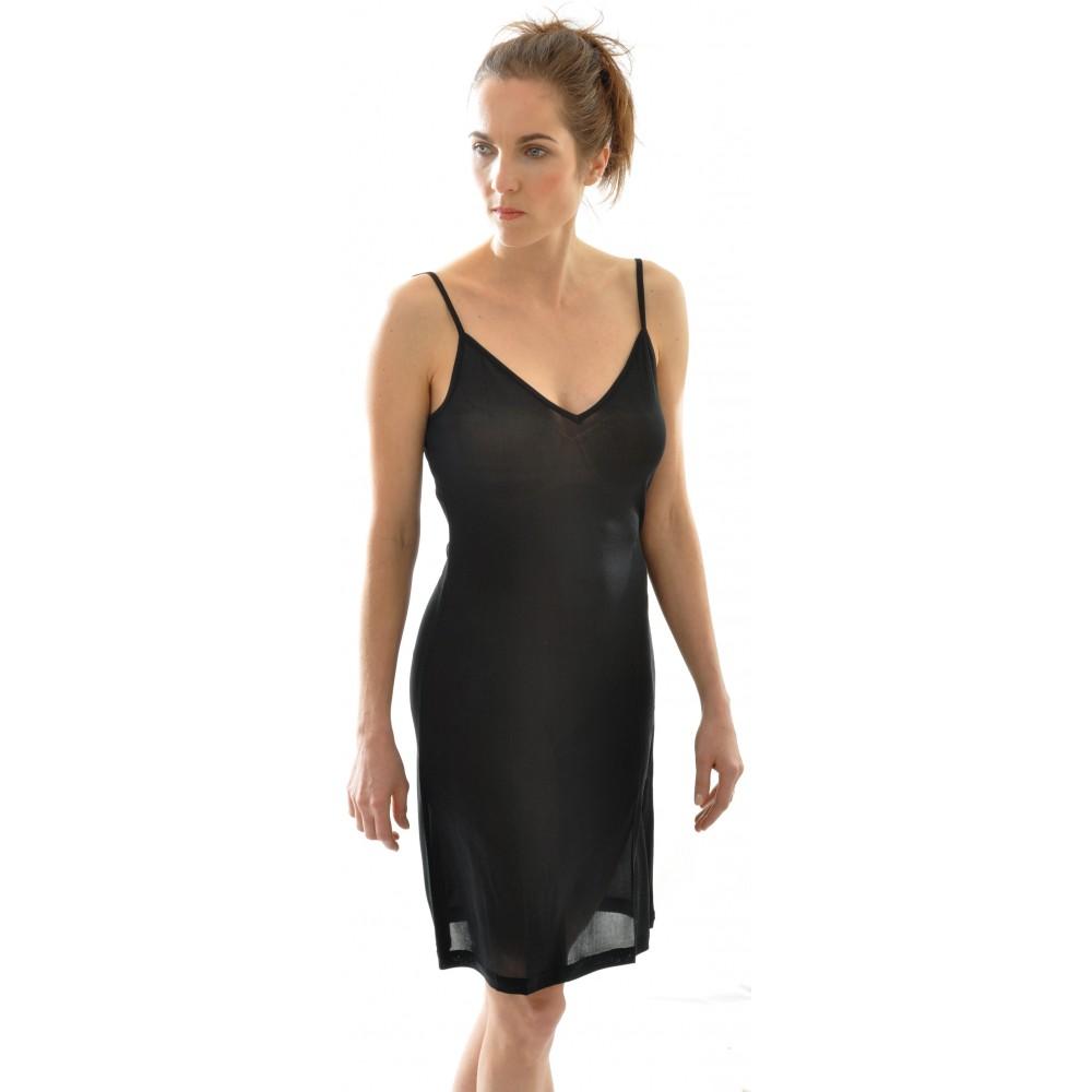 24e825fa0b0c Alkena underkjole eller natkjole i gots certificeret økologisk silke ...