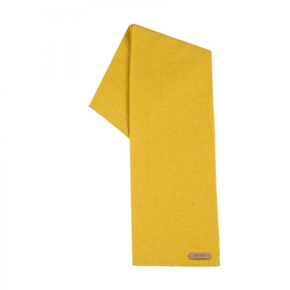 Pure Pure tube halstørklæde uld/silke/bomuld lemon curry-31