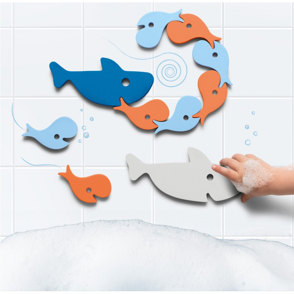 Quut badepuslespil hajer 10 dele-31