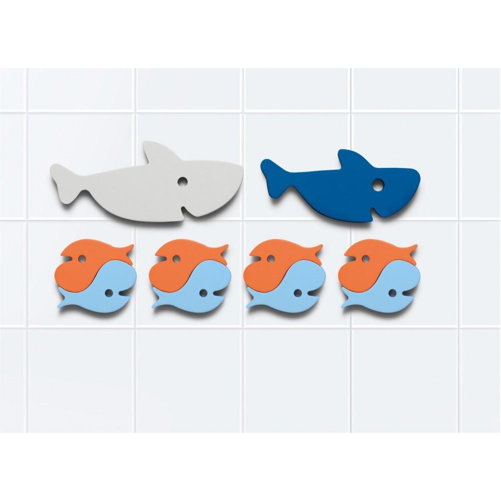 Quut badepuslespil hajer 10 dele-01