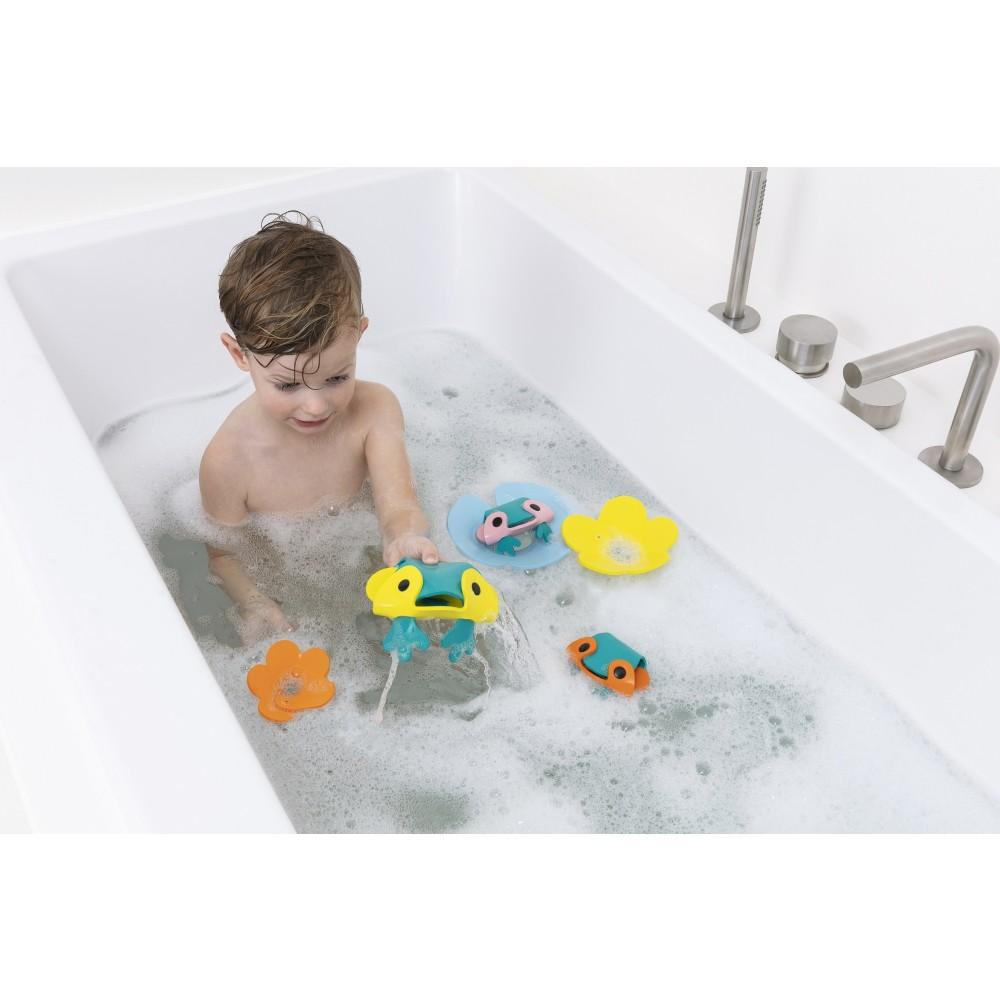 Quut badelegetøj frøer i mosen 9 dele-03