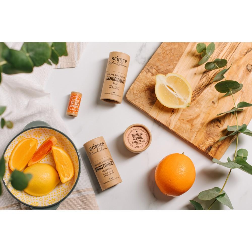 Scence økologisk and vegansk bodybalm summer citrus-01