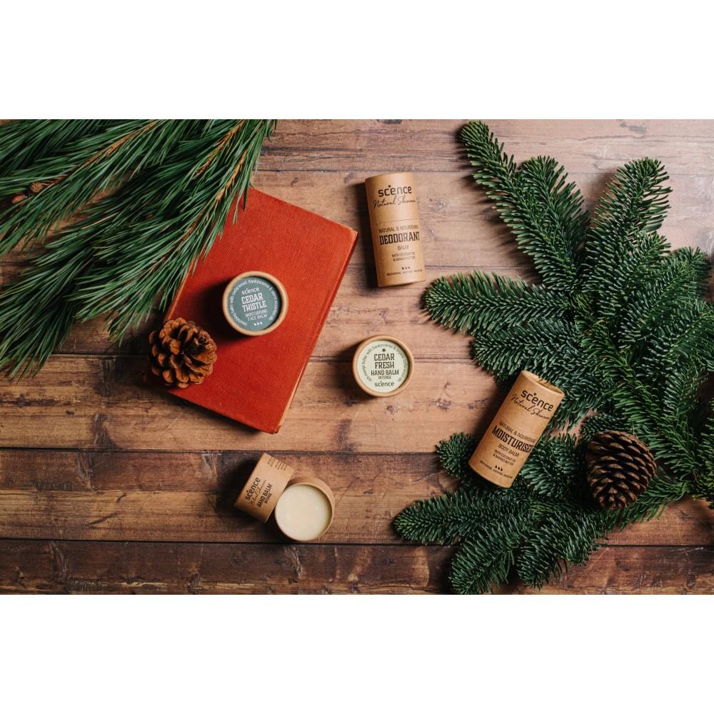 Scence økologisk and vegansk bodybalm cedar fresh-01