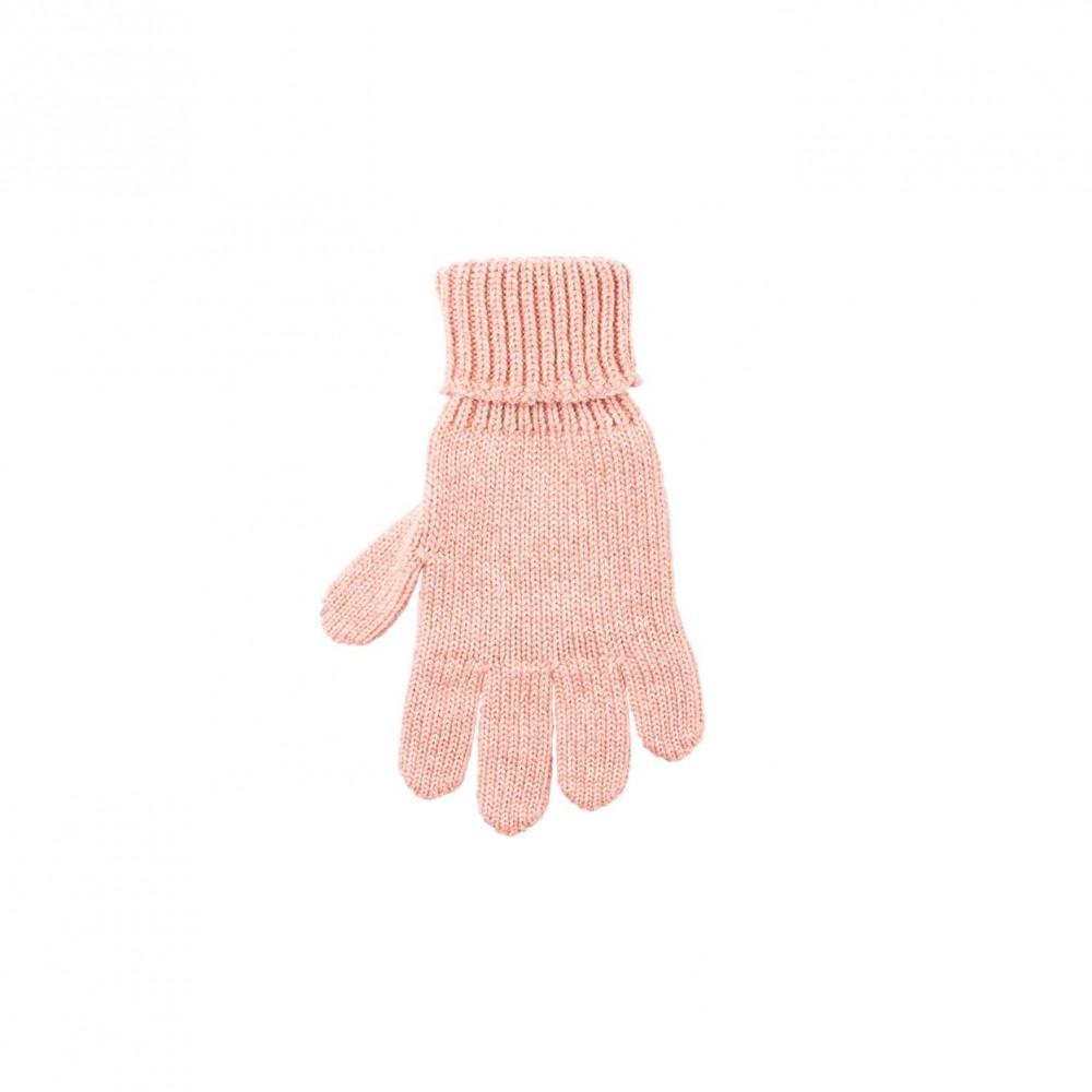 Pure Pure fingerhandsker uld/silke/bomuld duset rosa-31