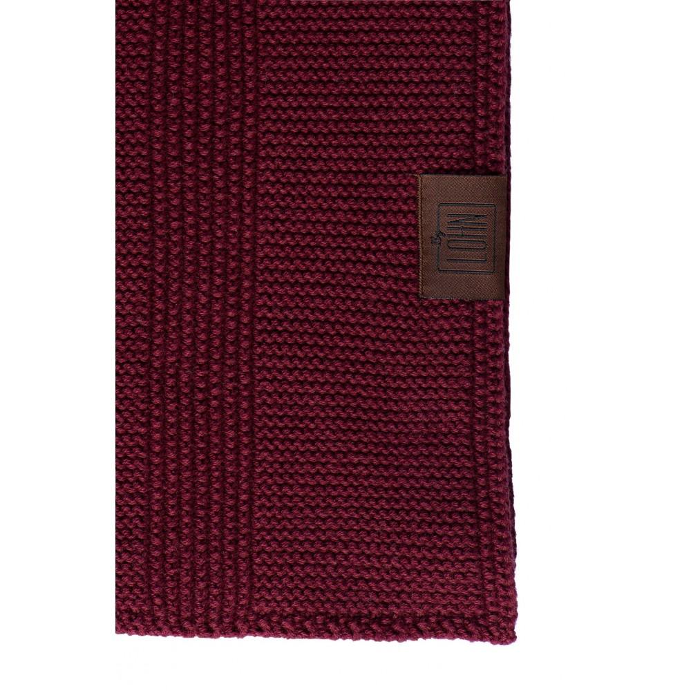 By Lohn all round cloth 25x25 cm. 2 stk. maroon-01