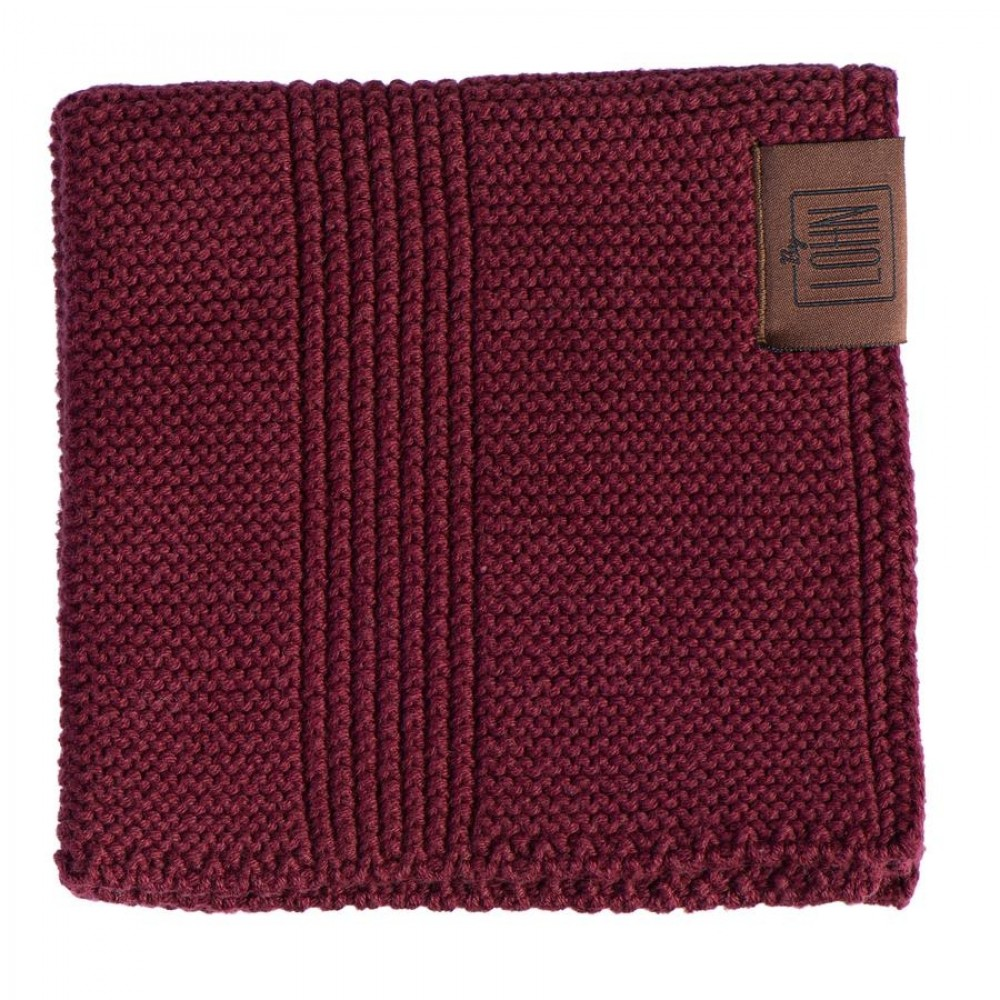 By Lohn all round cloth 30x30 cm. 2 stk. maroon-01