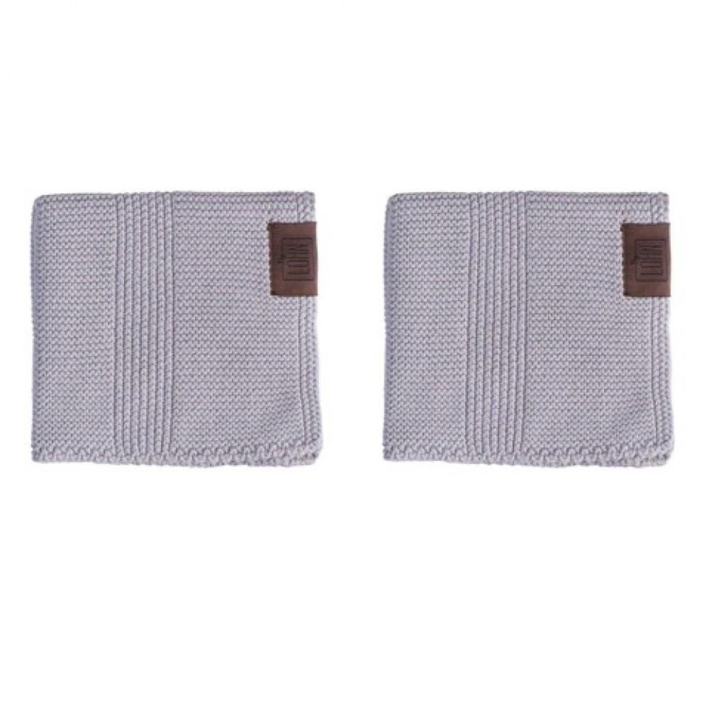 By Lohn all round cloth 25x25 cm. 2 stk. spanish grey-31