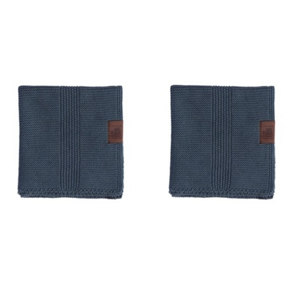 By Lohn all round cloth 25x25 cm. 2 stk. dark grey-31