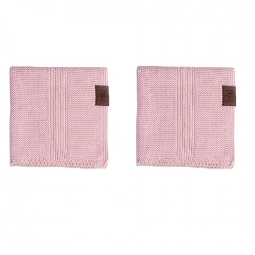 By Lohn all round cloth 25x25 cm. 2 stk. light pink-31