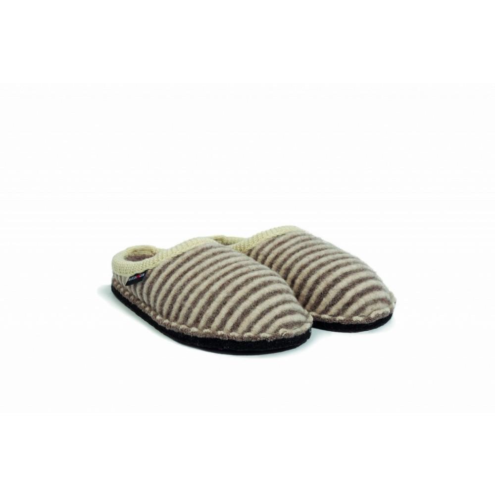 Haflinger hjemmesko i uld Flair Cathy sand/natur-31