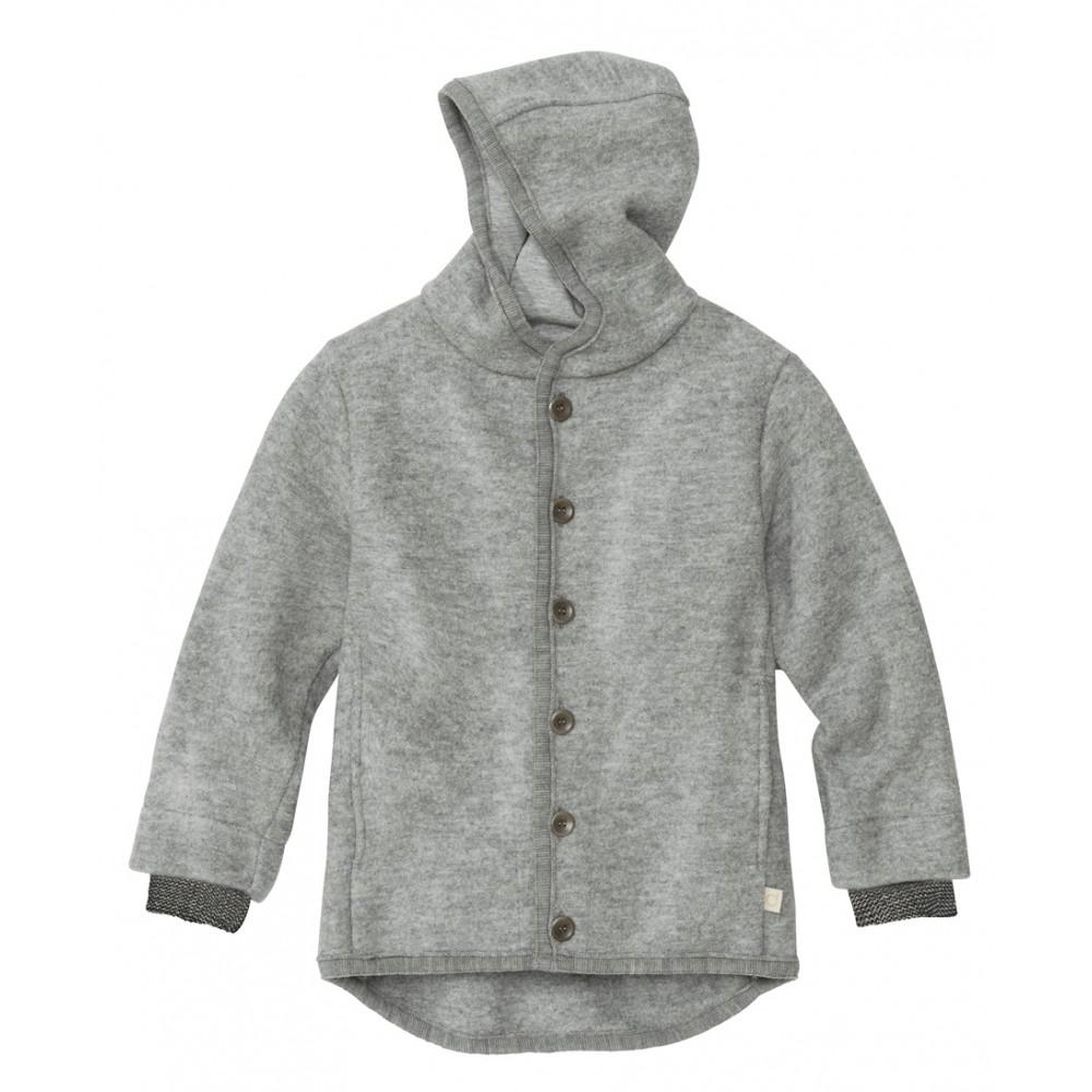 DISANA | uldjakke | kogt uld | grå-31