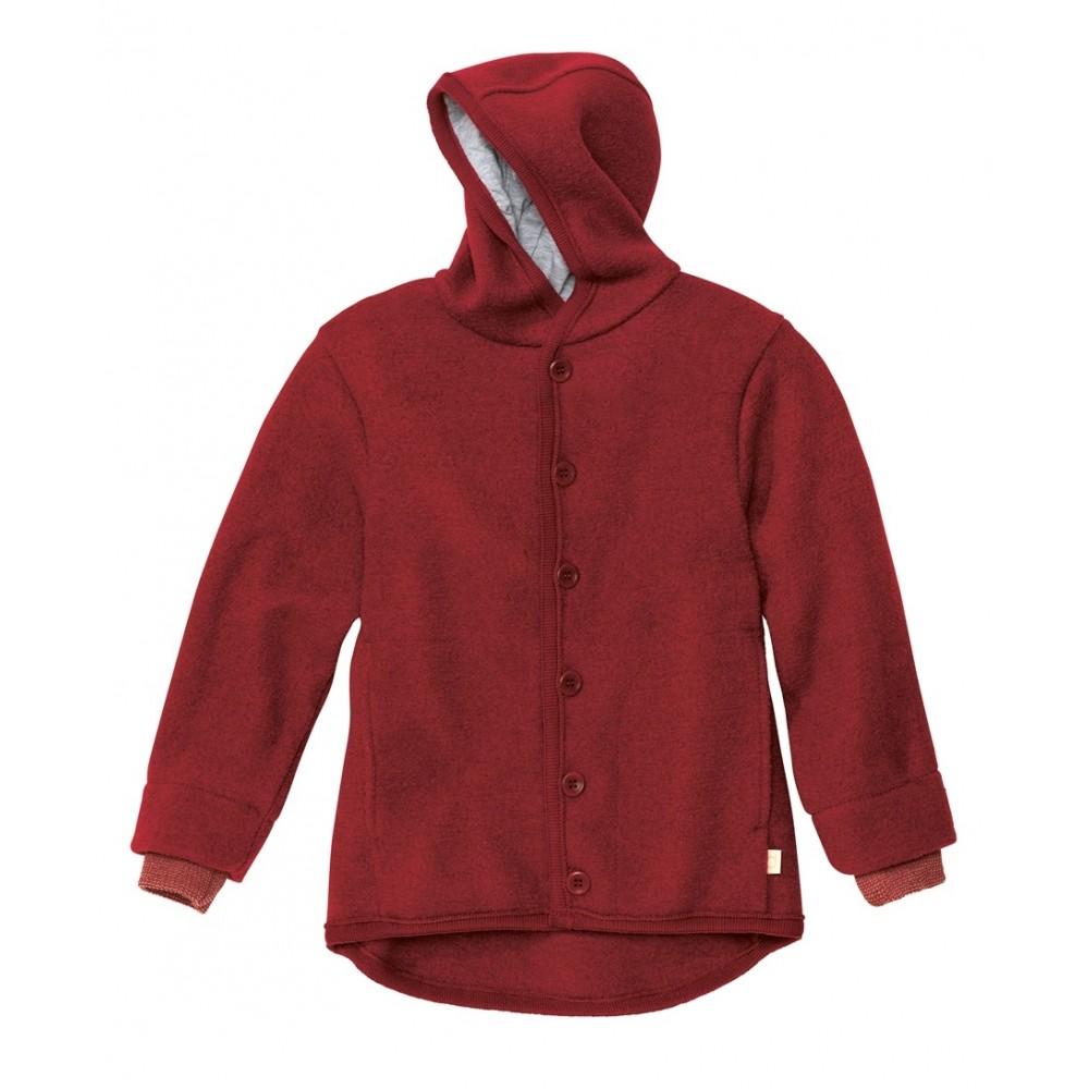 DISANA | uldjakke | kogt uld | bordeaux-31