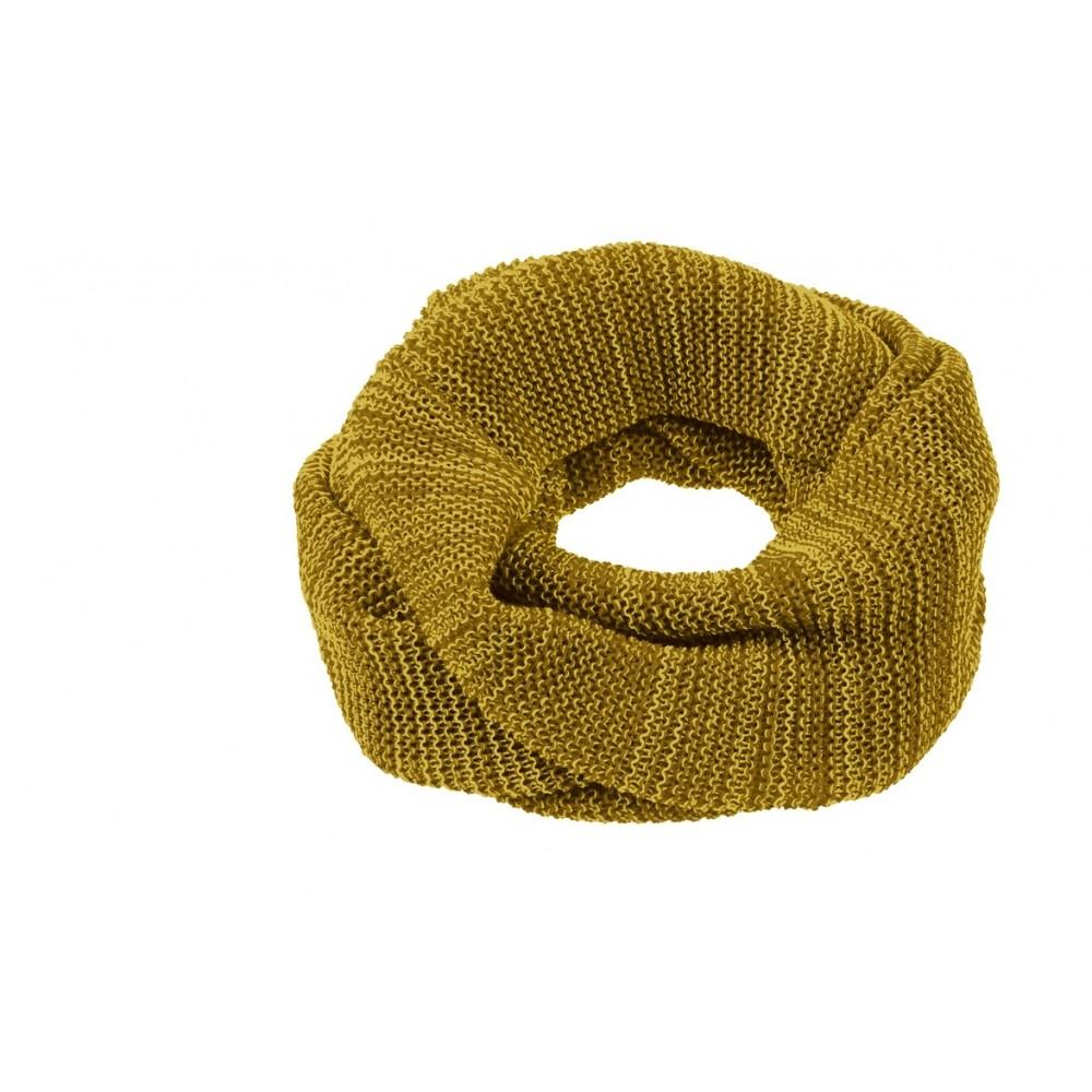 DISANA   tube halstørklæde   curry/gold melange-31