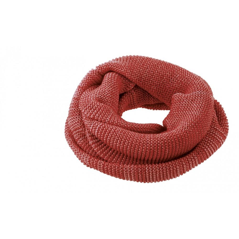 DISANA | tube halstørklæde | bordeaux/rosé melange-31