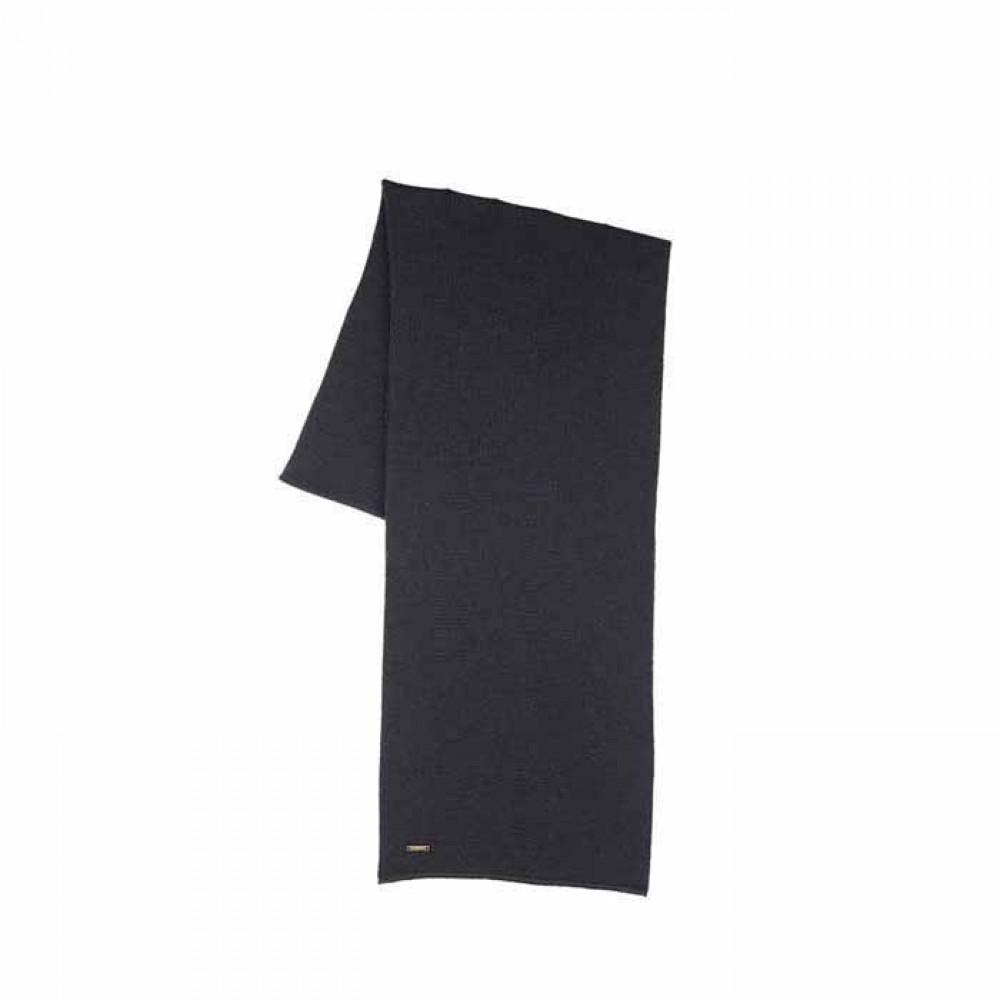 Pure Pure halstørklæde merino uld sort-31