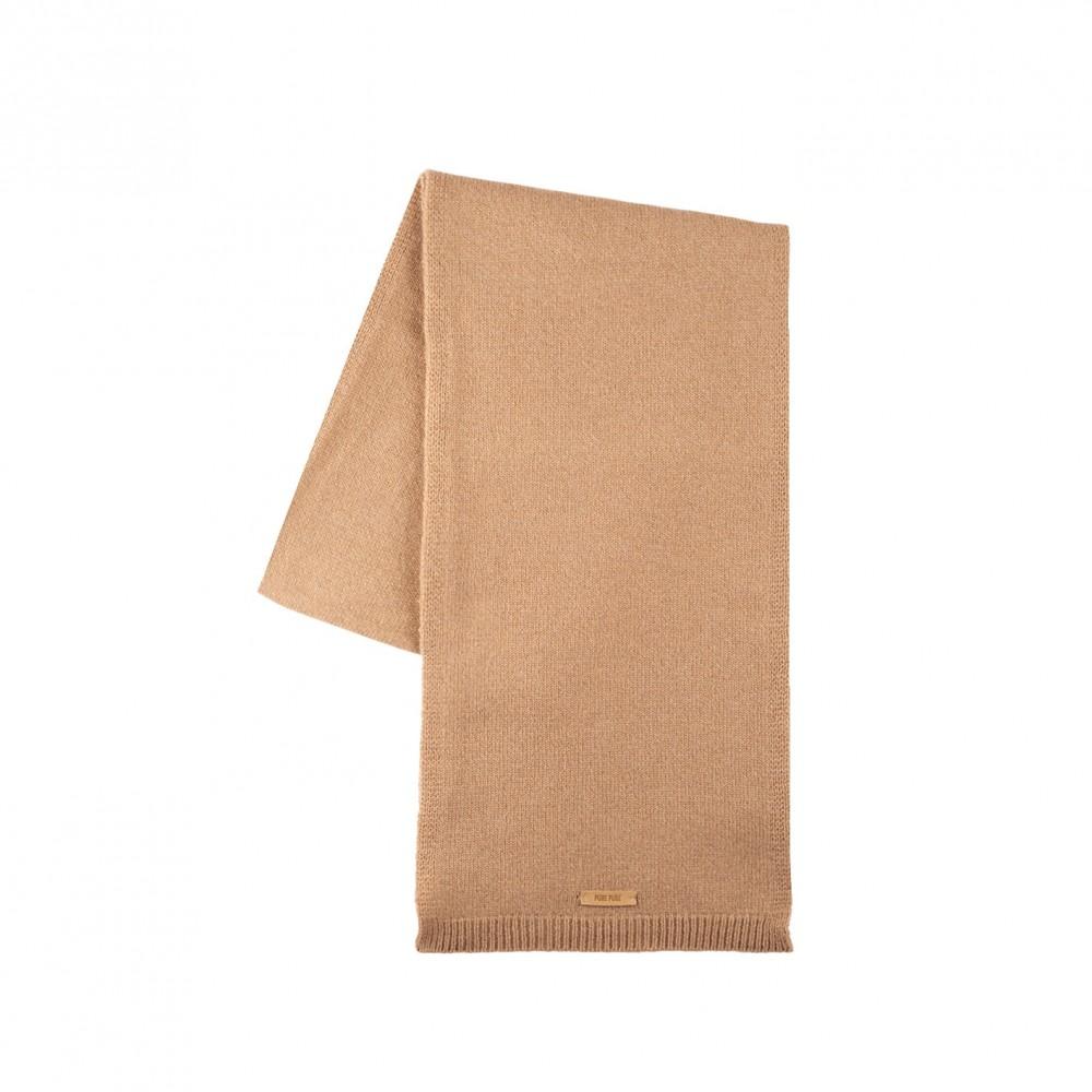 Pure Pure halstørklæde merinould and kashmir camel-31