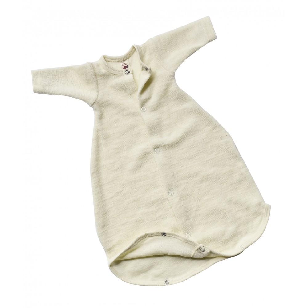 Engel præmatur sovepose m. ærmer økologisk uldfrotté-31
