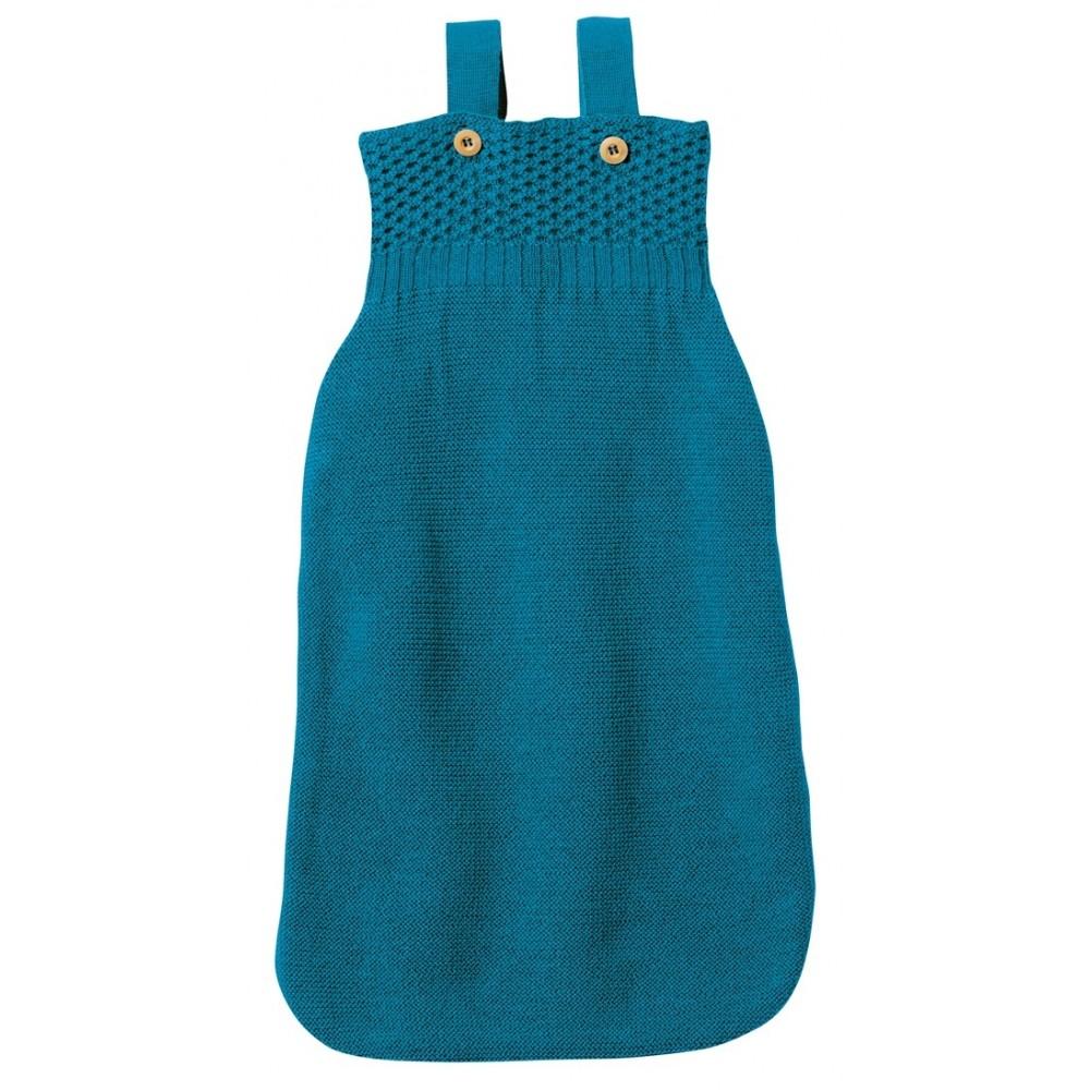 disana sovepose økologisk merinould blå-31