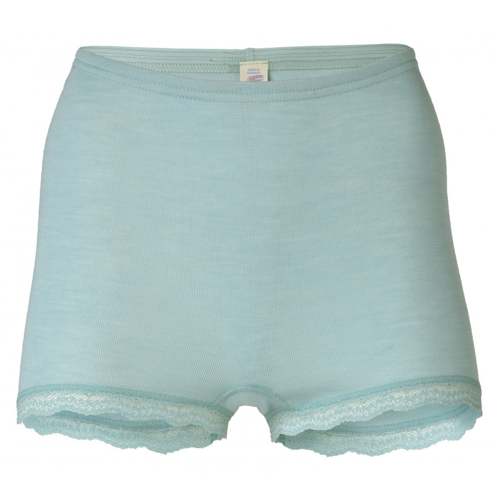 Engel dame hotpants med blonde uld and silke mint-31