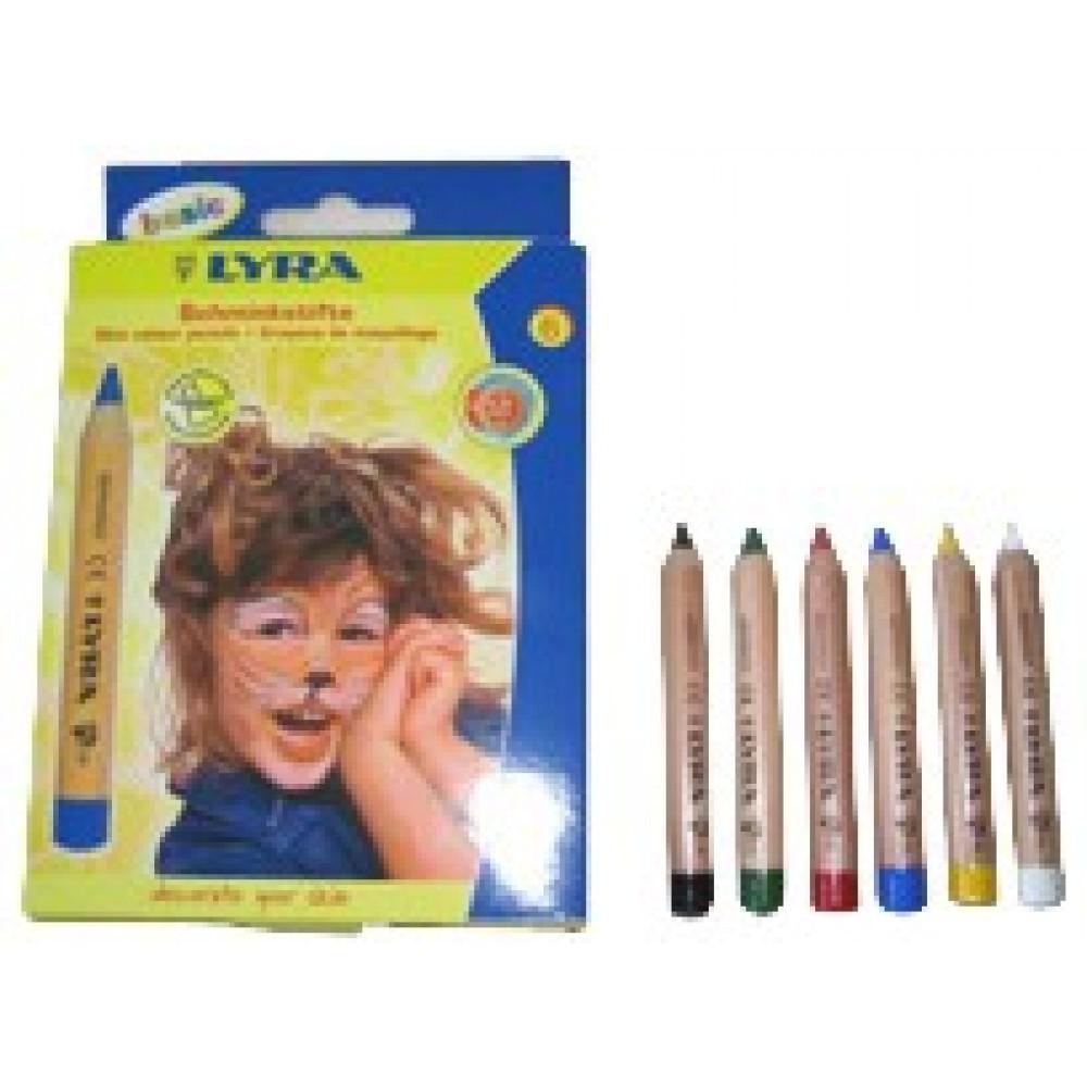 LYRA ansigtsfarver til børn flere varianter-31