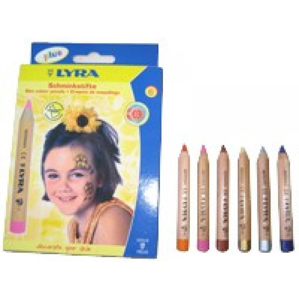 LYRA ansigtsfarver til børn flere varianter-01