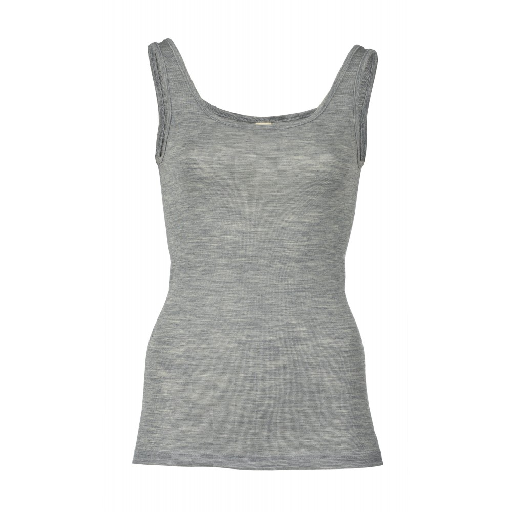 Engel dame undertrøje uld and silke grå-35