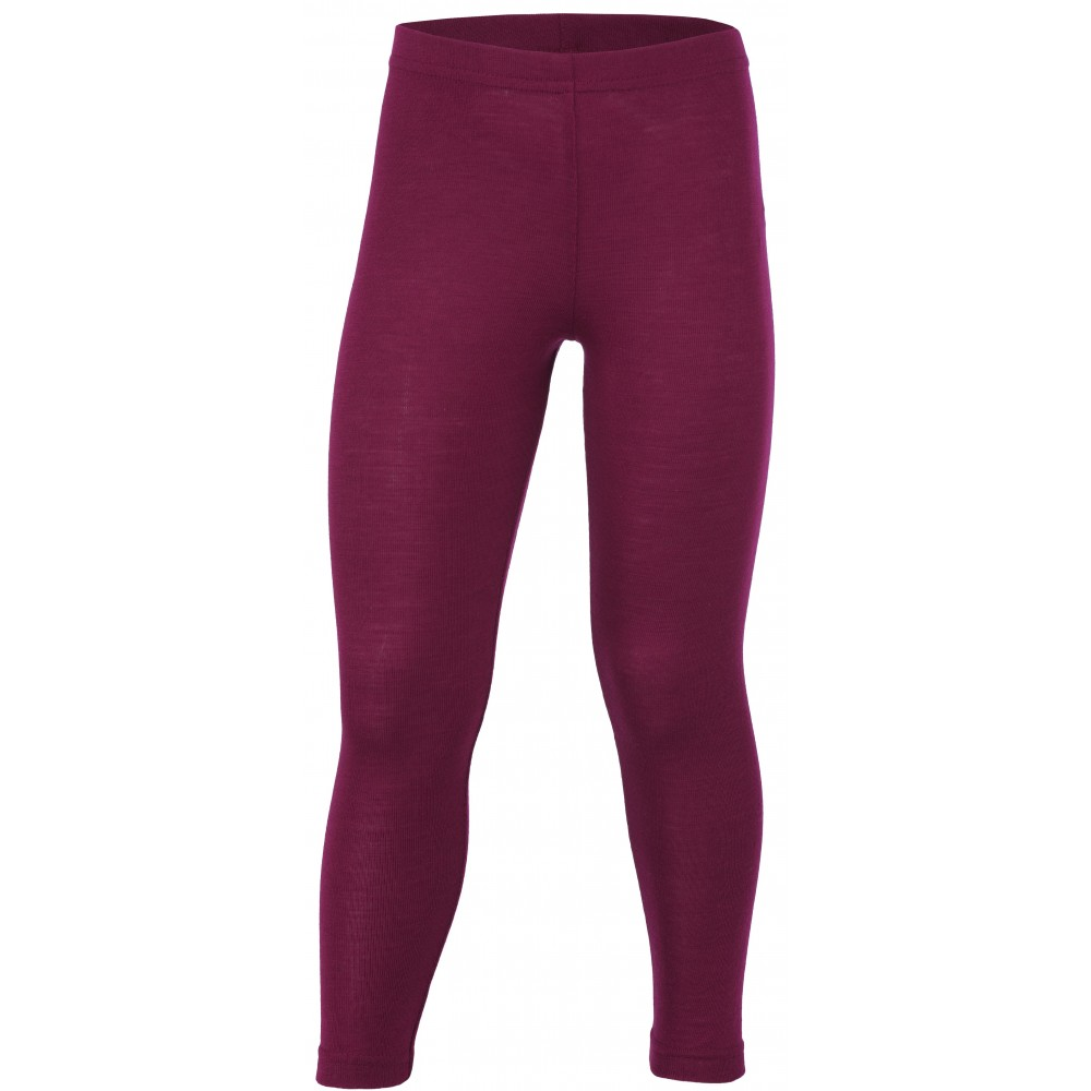 Engel leggings uld and silke orchid-31