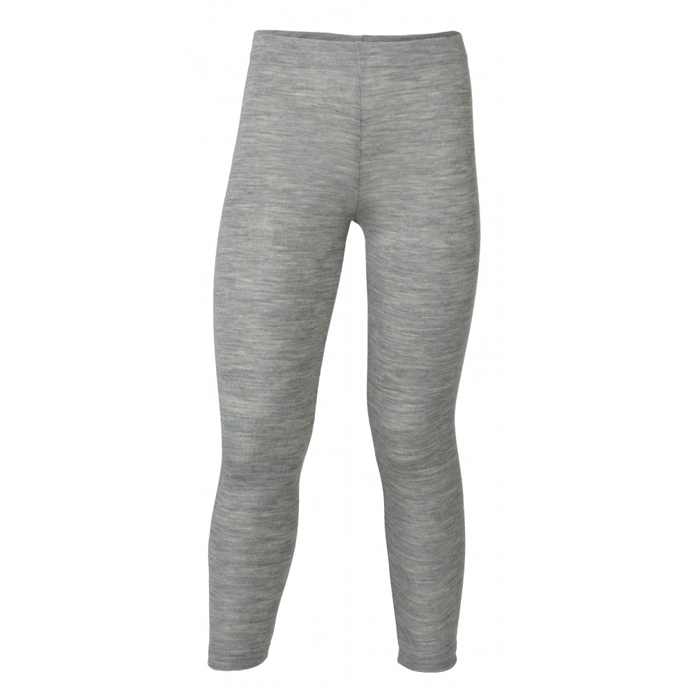 Engel leggings uld and silke grå-31
