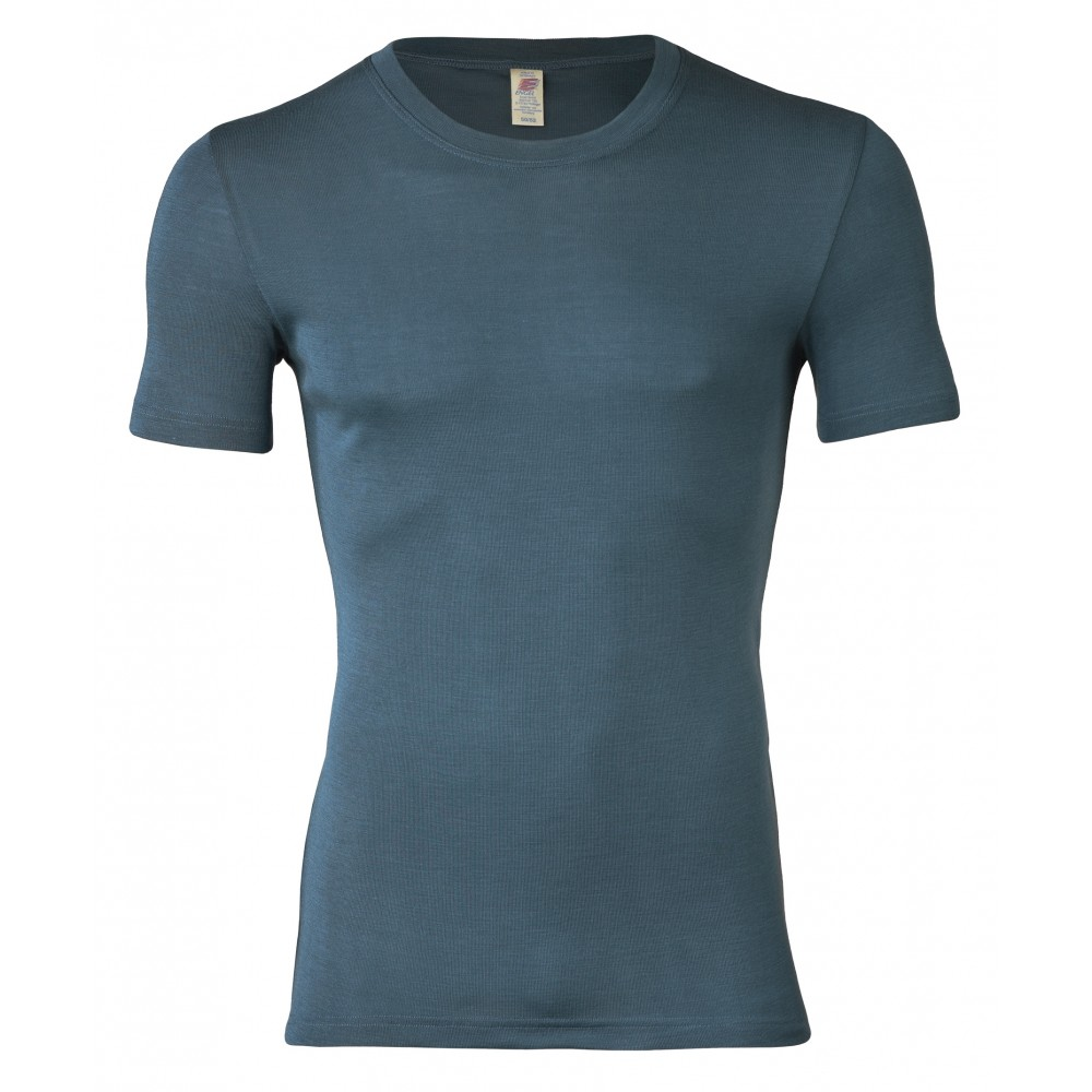 Engel herre kortærmet t-shirt uld and silke atlantic-31
