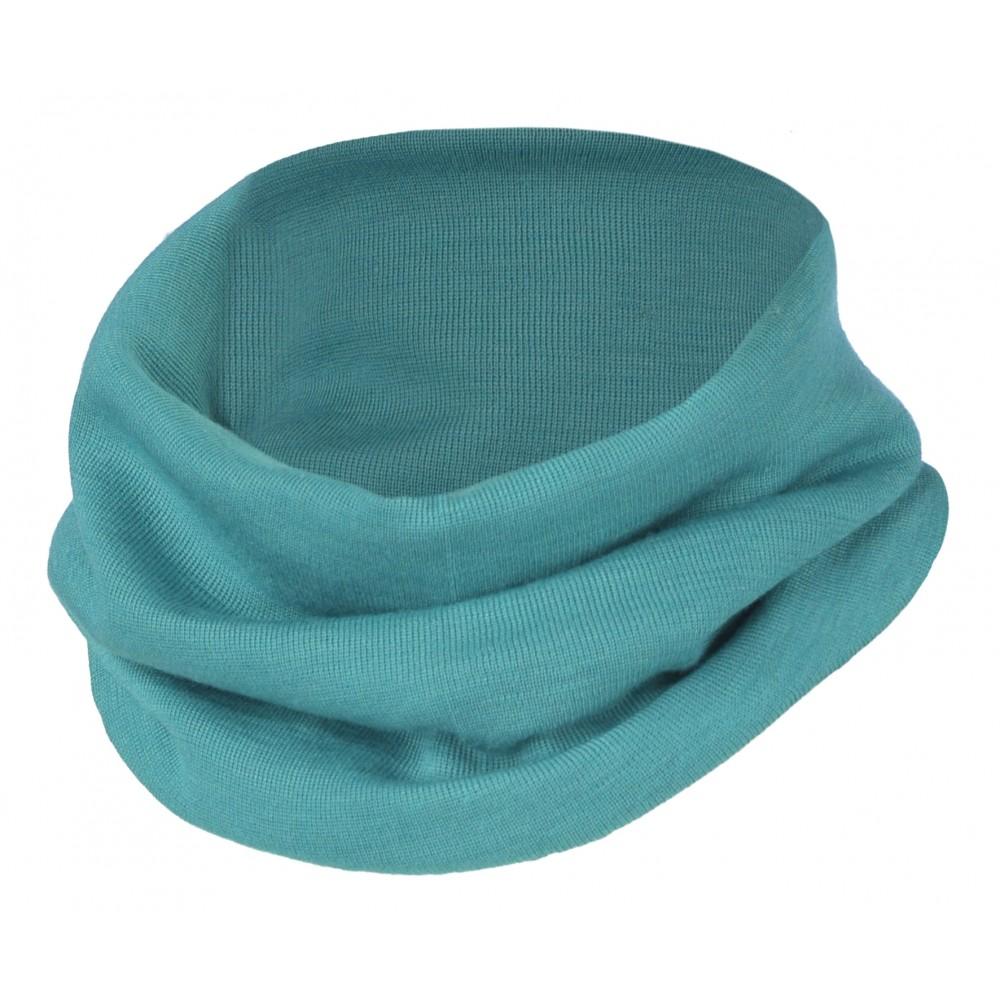 Engel halsedisse uld and silke ice blue-31