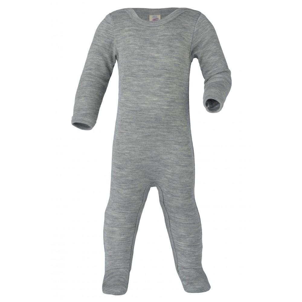 Engel heldragt uld and silke grå-31