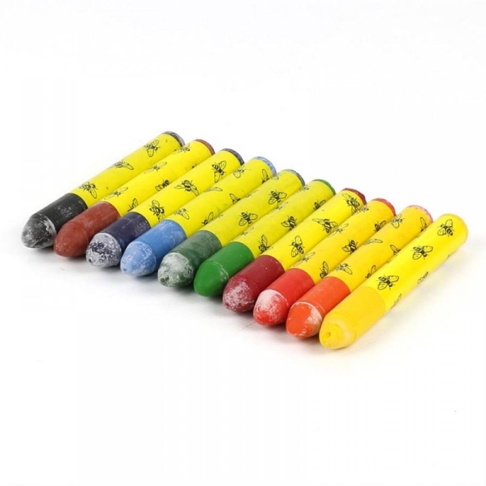 ÖkoNORM bivoksfarver i metalæske 10 stk.-01