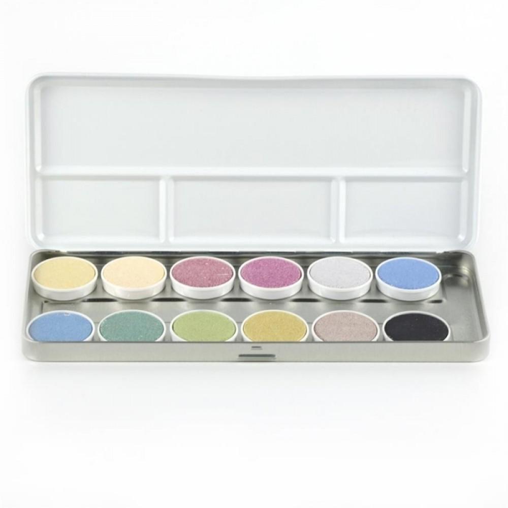 ÖkoNORM luksus vandfarver 12 farver-31