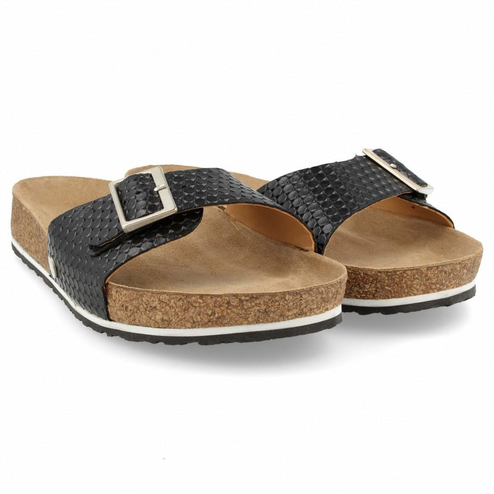 Björn Isaac ofta  Haflinger bio Gina sort - ergonomisk skøn sandal uden skadelig kemi