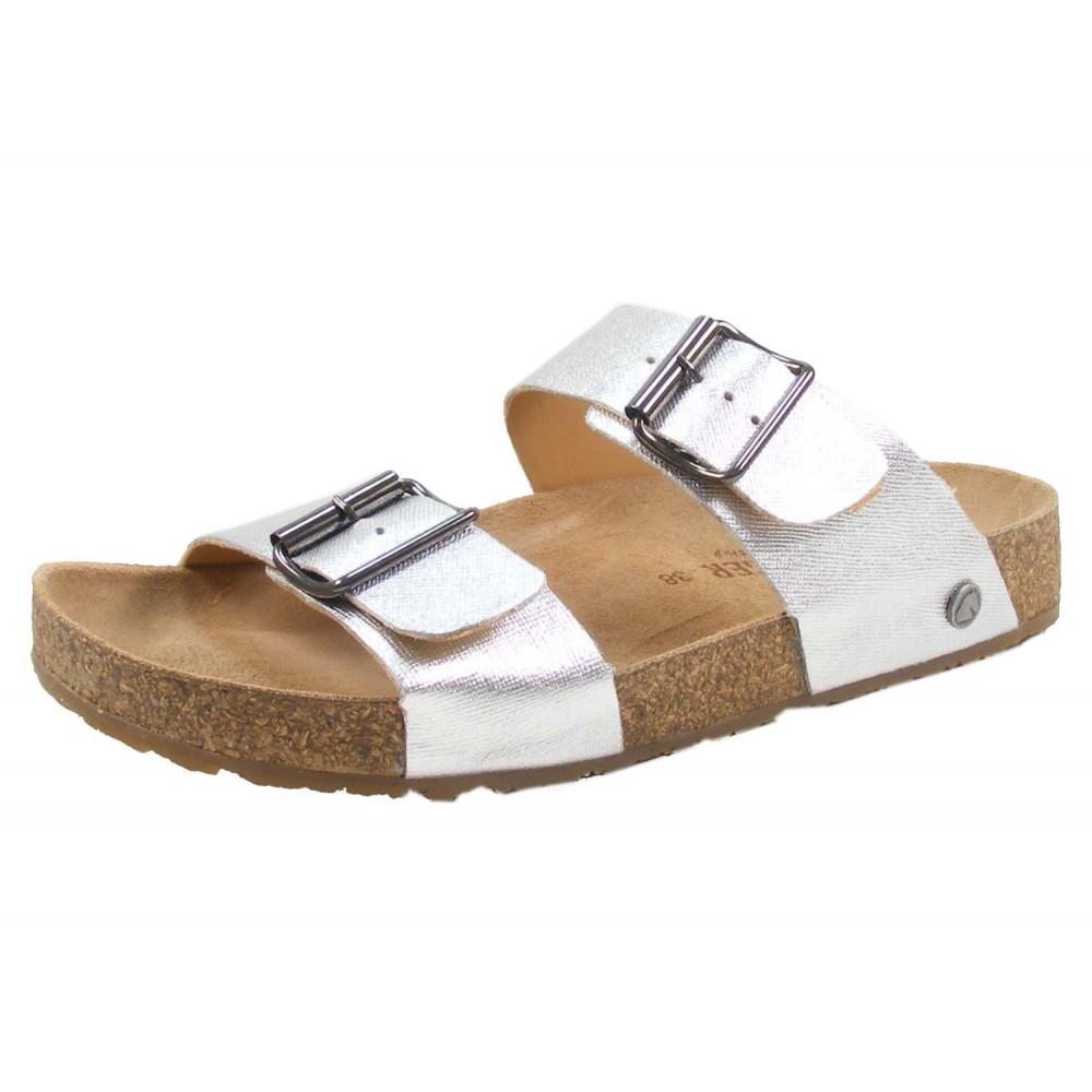 Haflinger sandaler Bio Andrea sølv-01