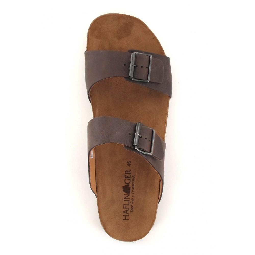 Haflinger sandaler Bio Andrea brun-01