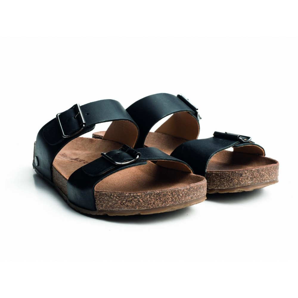 Haflinger sandaler Bio Andrea sort-31
