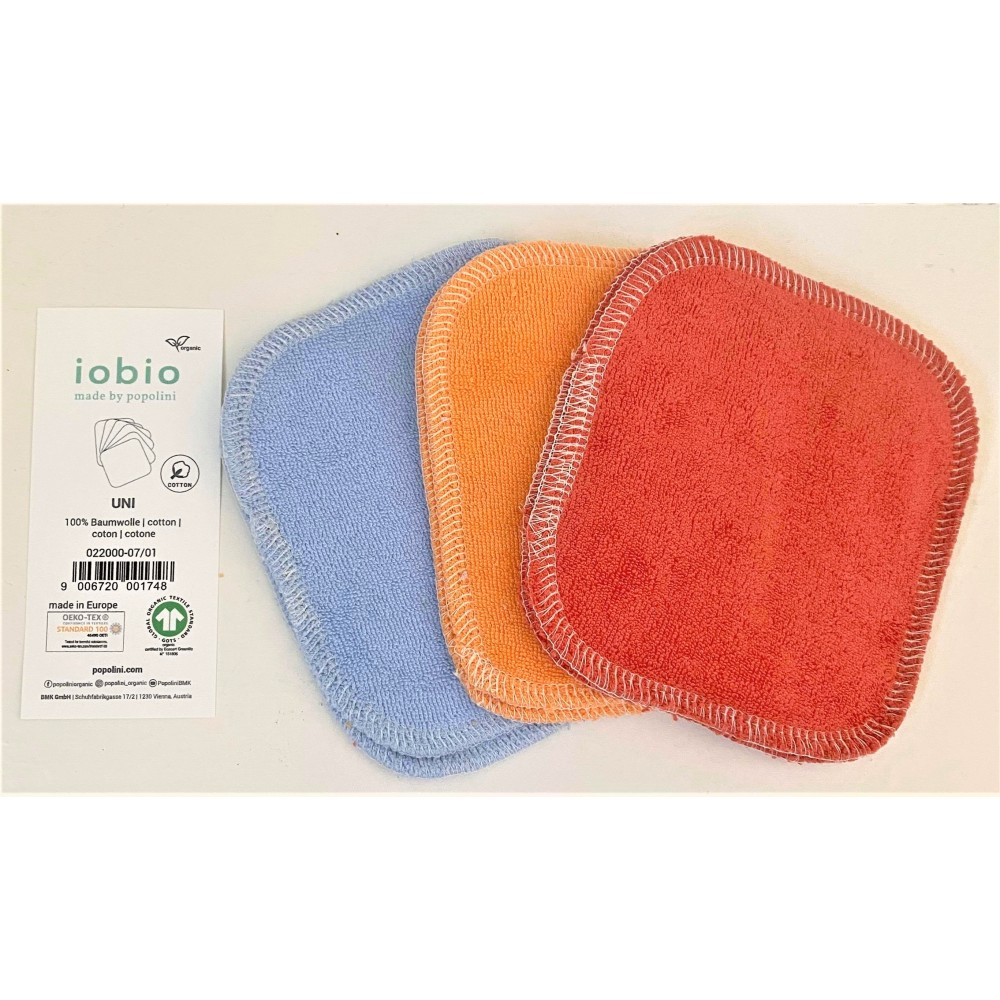 Popolini 6 små vaskeklude flere farver-31