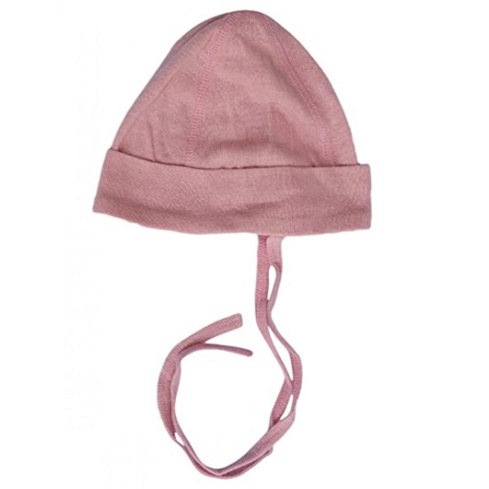 Alkena hue bourette silke støvet rosa-31