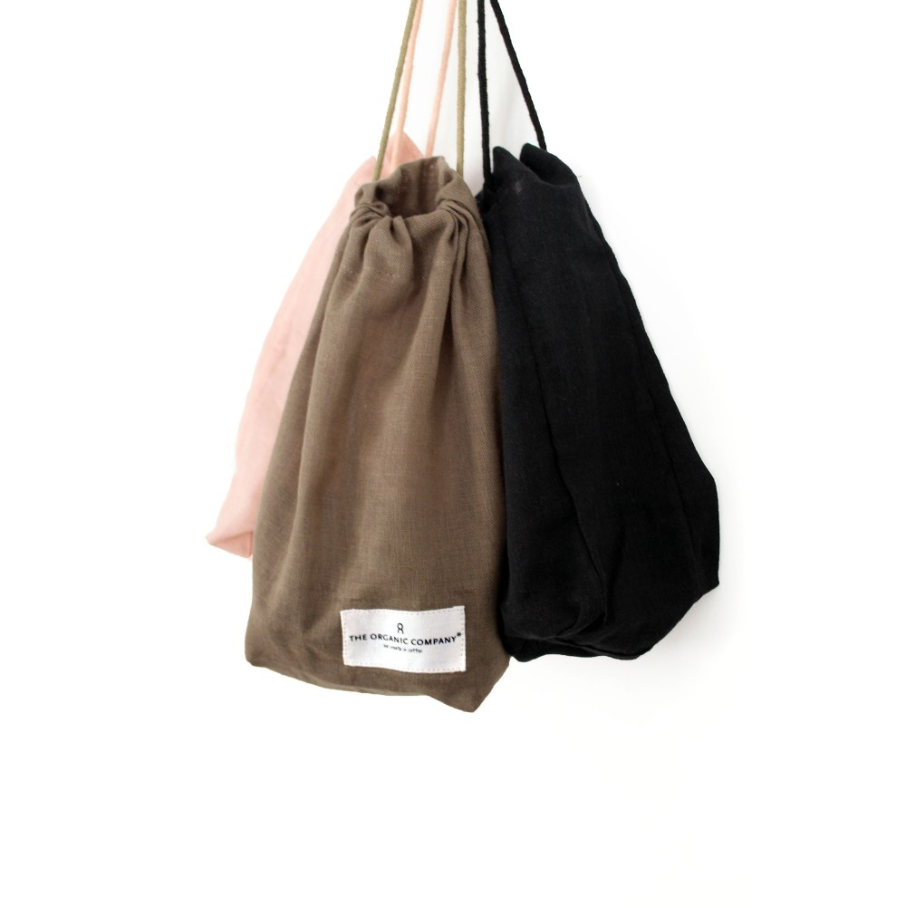 The Organic Company brødpose flere størrelser black-01