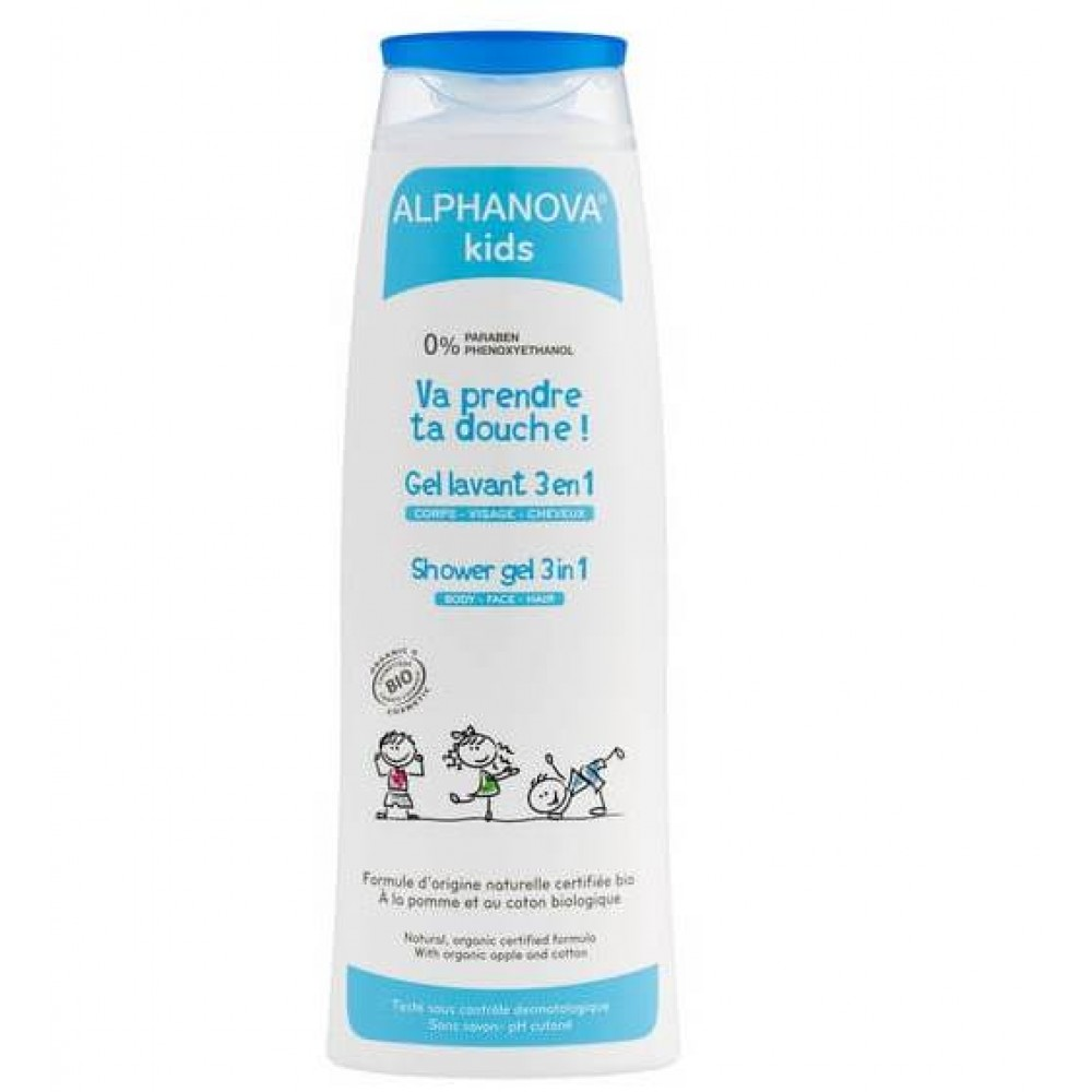 Alphanova 3-i-1 shower gel 250 ml.-31